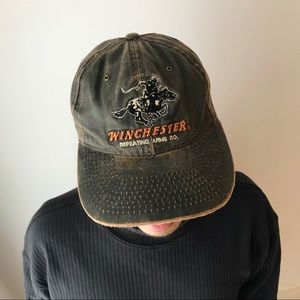 adjustable canvas baseball cap horse logo dad hat.